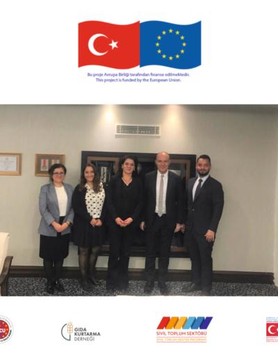 18 Ekim 2019, T.C. Dışişleri Bakanlığı Avrupa Başkanlığı Ziyareti