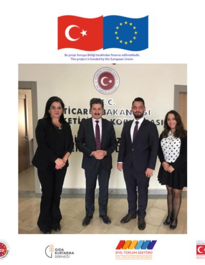 18 Ekim 2019, T.C. Ticaret Bakanlığı Ziyareti